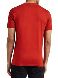 Pretty Green Rindle Pocket T Shirt Red