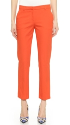 True Royal Cropped Flare Pants Orange