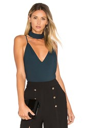 Backstage Nena Bodysuit Dark Green
