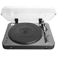 Lenco L 85 Usb Two Speed Turntable With Direct Mp3 Recording Black