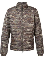 Woolrich 'Sundance' Camouflage Padded Jacket Green
