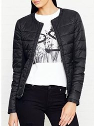 Karen Millen Lightweight Padded Jacket Black