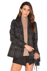 Bailey 44 Plaid Coven Jacket Charcoal