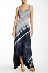Go Couture Sleeveless Hi Lo Maxi Dress Multi