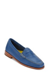 G.H. Bass Women's And Co. 'Whitney' Loafer Blue
