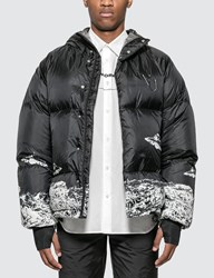 Undercover X Valentino Down Jacket Black