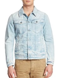 G Star 3301 Denim Jacket Blue