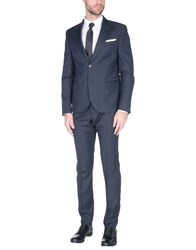 Daniele Alessandrini Suits Dark Blue