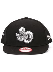 Ktz 9Fifty Skull Patch Snapback Cotton Black