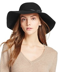 Echo Flat Top Tassel Hat Black