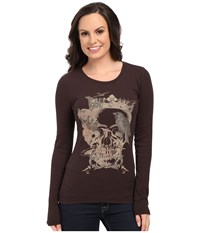 Ariat Queen Top Ganache Women's Long Sleeve Pullover Black