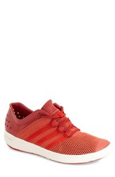 Men's Adidas 'Climacool Boat Pure' Water Shoe Bold Orange Power Red Chalk