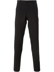 Wooyoungmi Slim Tailored Trousers Black