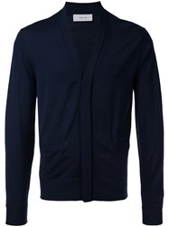 Cerruti 1881 V Neck Cardigan Blue