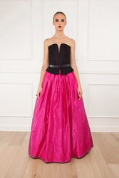 Martin Grant Long Taffeta Ball Skirt