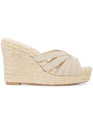 Stubbs And Wootton Grace Sandals Nude And Neutrals