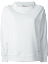 Dondup Embroidered Quote Sweatshirt White