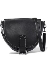 J.W.Anderson Jw Anderson Bike Small Smooth And Textured Leather Shoulder Bag Black