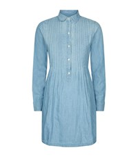 Denim And Supply Ralph Lauren Chambray Shirt Dress Female Blue