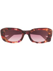 Moncler Eyewear Abstract Print Sunglasses 60