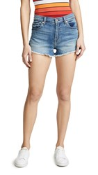 7 For All Mankind High Waist Shorts Primm Valley