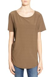 Women's Leith Wrap Back Stretch Knit Tee