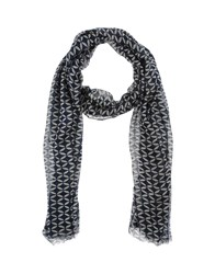 Stefanel Scarves Dark Blue