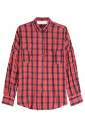 Iro Printed Shirt Red