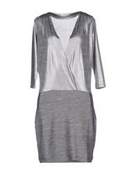 Supertrash Dresses Short Dresses Women Grey