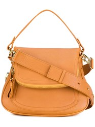 Tom Ford Foldover Tote Nude Neutrals