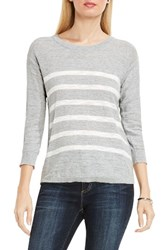 Vince Camuto Women's Two By Stripe Pullover