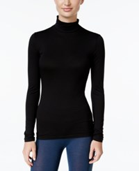 32 Degrees Base Layer Mock Turtleneck Top Black