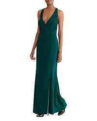 Ralph Lauren Racerback Gown English Green