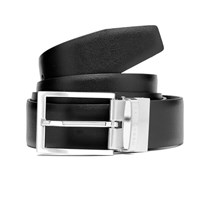 Hugo Boss Men's Olarion Reversible Belt Black Brown