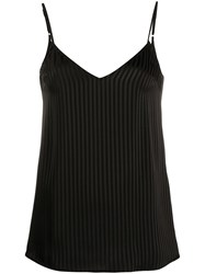 Federica Tosi Striped V Back Top 60