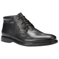 Geox Brayden Amphibiox Waterproof Leather Chukka Boots Black