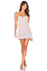 Only Hearts Club Izzy Chemise Lavender
