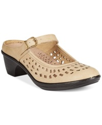 Easy Street Shoes Easy Street Chicago Clogs Women's Shoes Stone