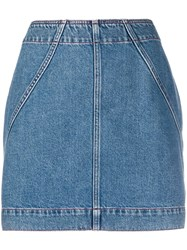 Philosophy Di Lorenzo Serafini High Waisted Denim Skirt 60