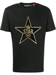Dolce And Gabbana Dg Star Patch T Shirt 60