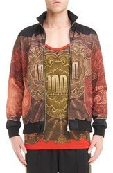 Givenchy Men's Currency Print Track Jacket