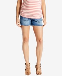 Motherhood Maternity Denim Shorts Medium Wash
