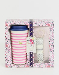 Baylis And Harding Fuzzy Duck Cotswold Floral Cup Set Clear