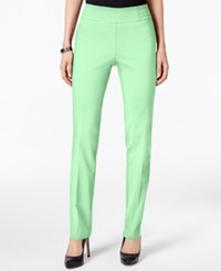Jm Collection Petite Studded Pull On Pants Only At Macy's Mint Julip