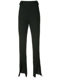 Kitx Skinny Fitted Trousers Black