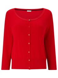Jacques Vert Cute Cardigan Bright Red