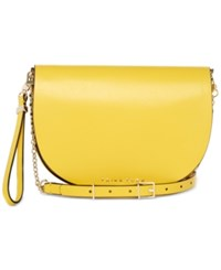 Trina Turk Park Avenue Convertible Crossbody Yellow