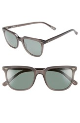 Raen Deus Ex Machina 'Arlo' 53Mm Polarized Sunglasses Matte Crystal Grey
