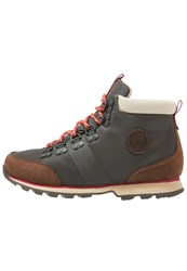 Helly Hansen Skage Walking Boots Espresso Crazy Horse Oxide Red Khaki Yellow Brown