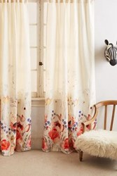 Anthropologie Garden Buzz Curtain Multi